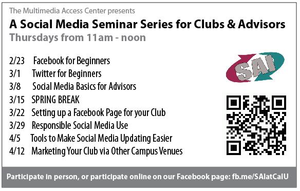 Social Media Series Schedule